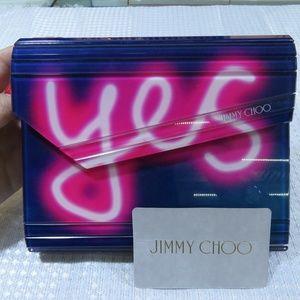 Jimmy Choo Crossbody Neon Bag.
